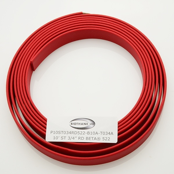 "10' Sample - Standard 3/4"" Beta® Red (RD522)"