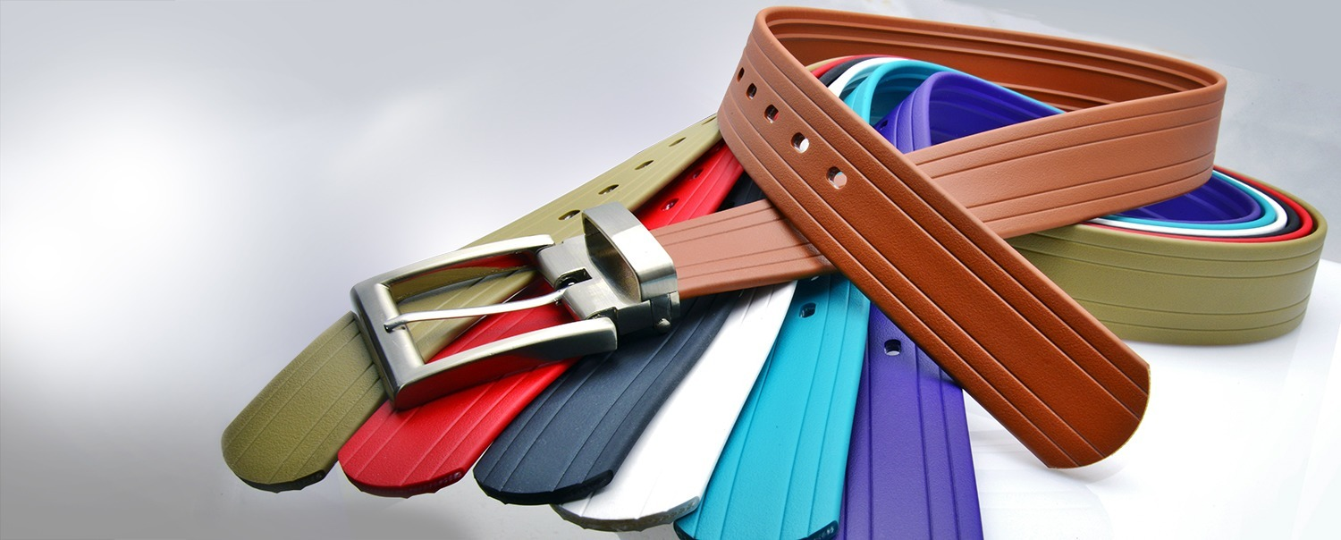 BioThane carries many different kinds of durable belts and buckles.