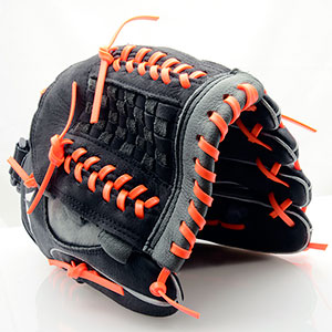 Orange Lace on Glove