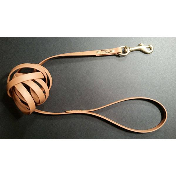 Image of a handmade dog leash from Booomchik.