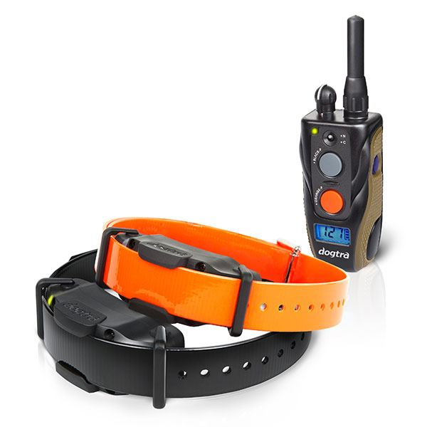 Dogtra makes training and no bark e-collars from coated webbing.
