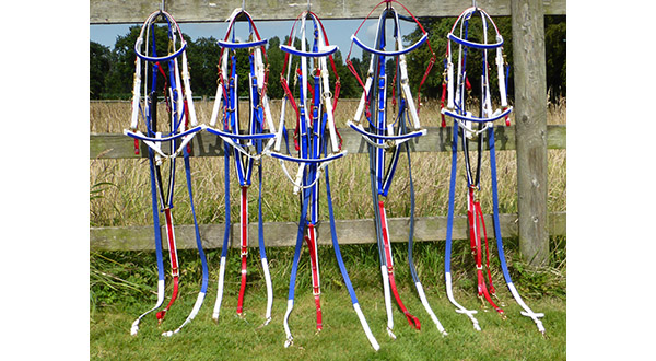 Beta and BioThane Bridles, Breastplates, Reins, and more.