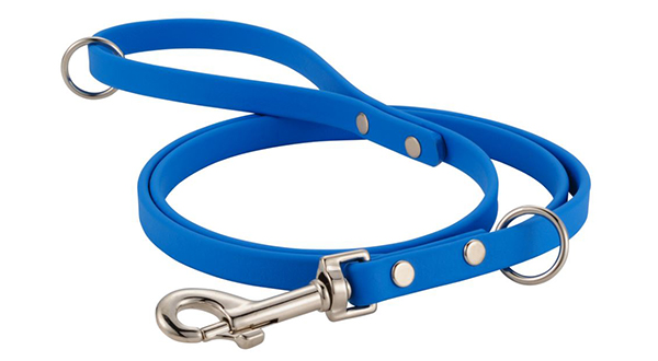 Image of a Dig It waterproof leash made from BioThane coated webbing