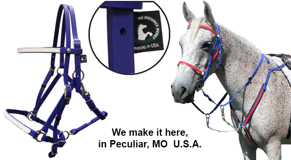 Beta Bridles, Trail Tack, and Beta Halters tack and trail riding equipment.