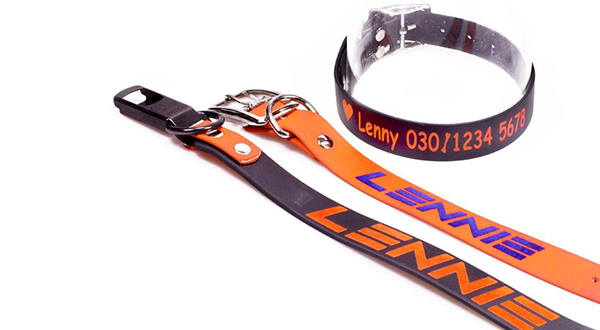 Printed Collars by LENNIE-Equipment